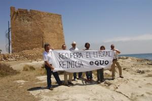 Juan López de Uralde visita Cabo Cope y se compromete con la defensa del Parque Regional - EQUO ...
