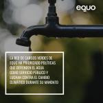 #QueNoTeVendanElAgua: EQUO y sus cargos apuestan por una gestión eficaz y sostenible del agua